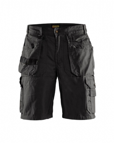 Blaklader Shorts 1534 100% Cotton Canvas 1310 (Black)